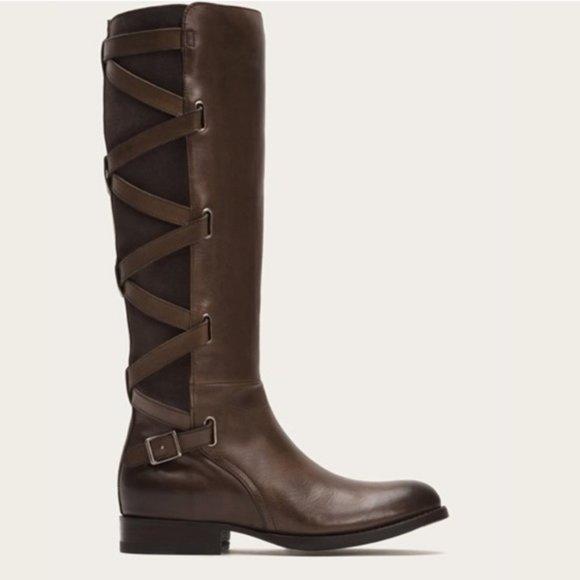 Frye Jordan Jodhpur Strappy Boots